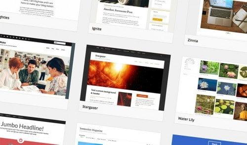 Installera ett nytt WordPress-tema