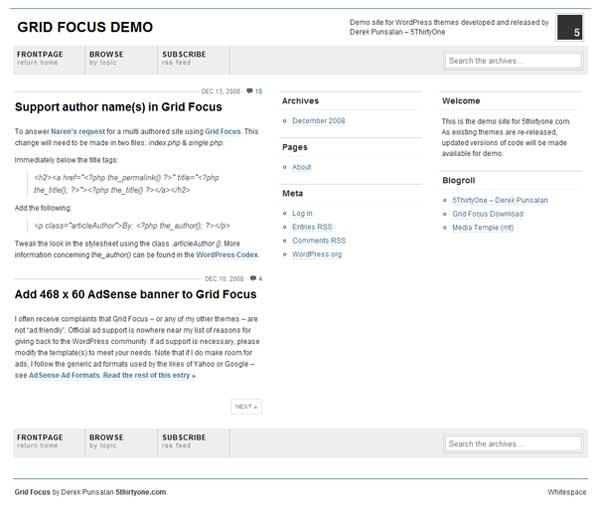 Grid Focus