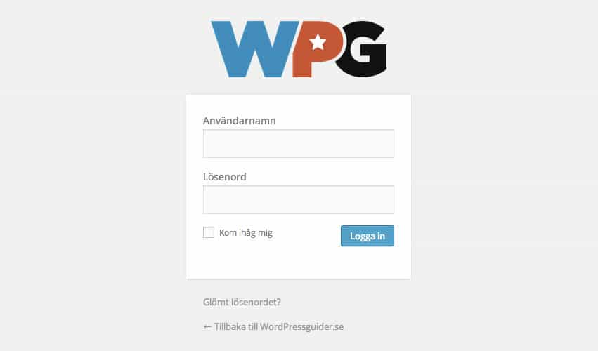 wpg inloggning