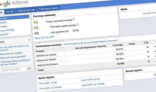 Markera relevant innehåll för AdSense