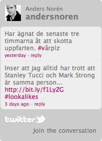 Twitter-widget