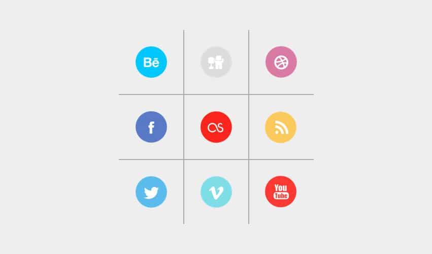 sociala ikoner wordpress