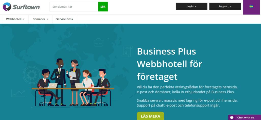 Surftown Webhotell