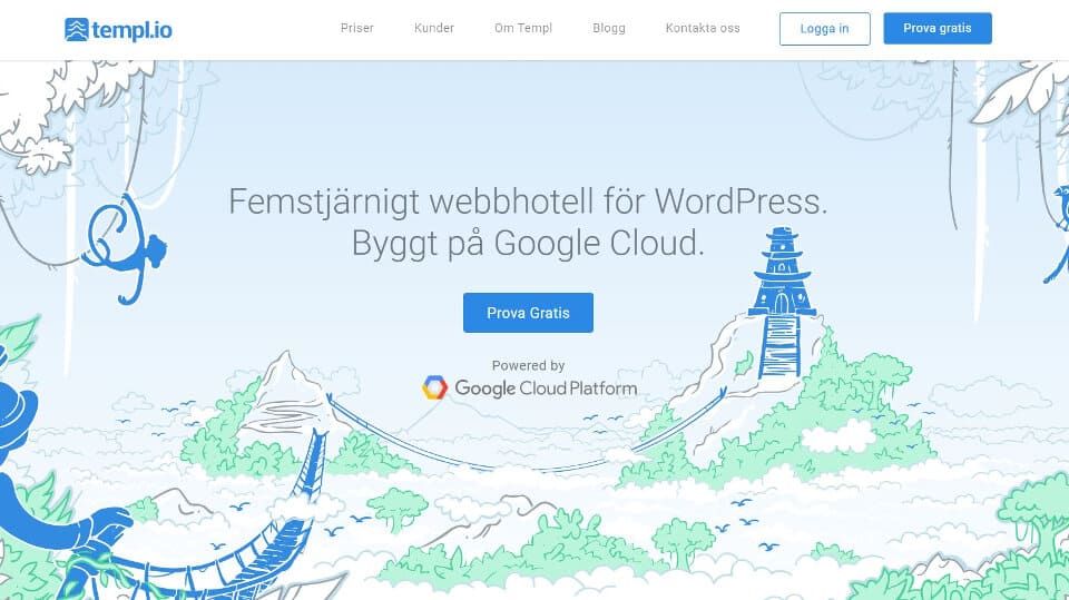 Templ.io wordpress hosting
